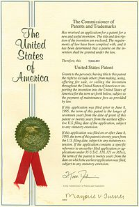 american patent document